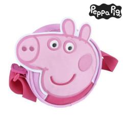 Shoulder Bag Peppa Pig Roosa