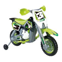Mootorratas Feber Rider Cross 6 V Elektriline Roheline (82 X 57 x 119 cm)