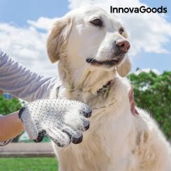 Перчатка для Расчесывания и Массажирования Животных InnovaGoods