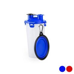 Kaks-ühes pudel vee- ja toiduanumatega lemmikloomadele 146171 (900 ml)