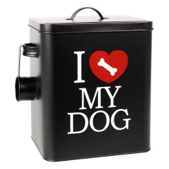 Koera sööginõu 112801 Must