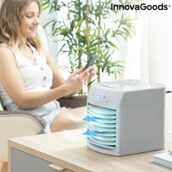 Портативный мини-кондиционер с испарителем и светодиодом Freezyq+ InnovaGoods