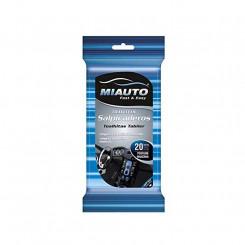 Стерильные влажные салфетки (упаковка) Miauto Очиститель приборной панели (20 uds)