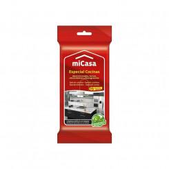 Стерильные влажные салфетки (упаковка) Micasa Кухня (15 uds)