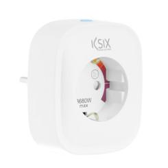 Умная розетка KSIX Smart Energy Slim WIFI 250V Белый