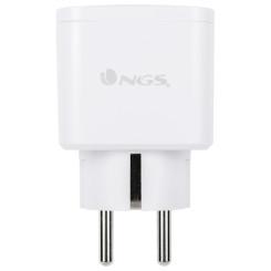 Умная розетка NGS Plug Loop WiFi 3680W Белый