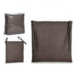 Подушка для стула Серый Ткань