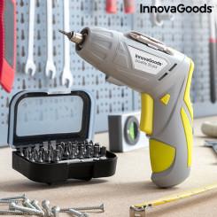 Многопозиционная аккумуляторная электрическая отвертка с принадлежностями Drivelite InnovaGoods 33 Предметы