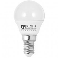 Ümar LED-elektripirn Silver Electronics Eco E14 5W Valge valgus