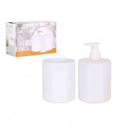 Набор для ванной Java Confortime Белый Круглый (2 Pcs)