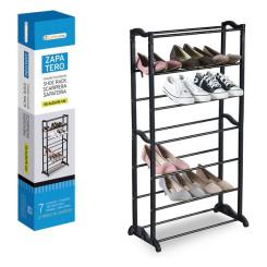 Тумба для обуви Confortime Чёрный (21 пар) (55,5 x 25 x 95 cm)