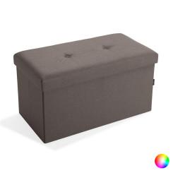 Тумба для обуви С крышкой лён Деревянный MDF (40,5 x 40,5 x 76,5 cm)