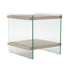 Öökapp DKD Home Decor Kristall Puit MDF (50 x 50 x 49 cm)