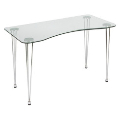 Laud metall ja kristall (120 x 60 x 73 cm)