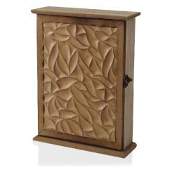 Шкаф для ключей Натуральный Деревянный MDF (6,5 x 27 x 20 cm)