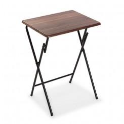 Складной стол Темно-коричневый Металл Деревянный MDF (37,5 x 65,5 x 47,5 cm)