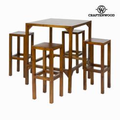 Kõrge laud 4 taburetiga - Franklin Kogumine by Craftenwood