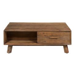 Кофейный столик (120 x 60 x 63 cm) Переработанная древесина