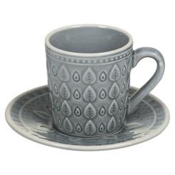 Чашка с тарелкой Natural (15 X 15 x 10 cm)
