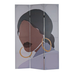 Sirm DKD Home Decor Aafriklanna Kahepoolne Kangas Puit MDF (120 x 2.5 x 180 cm)