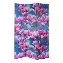 Sirm DKD Home Decor Lotus Flower Kangas Puit MDF (120 x 2.5 x 180 cm)