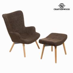 Кресло с подставкой для ног by Craftenwood