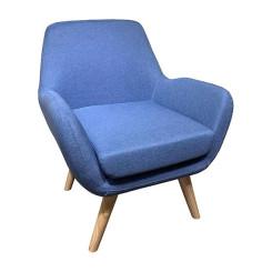 Кресло Velvet древесина бука (73 x 78 x 87 cm)