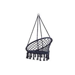 Подвесное кресло Синий (82 x 62 x 123 cm)