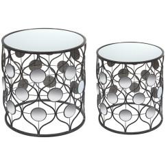 Набор из двух столов Железо (49 X 49 x 54 cm)
