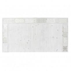 Изголовье кровати DKD Home Decor Белый Деревянный (160 x 4.5 x 85 cm)