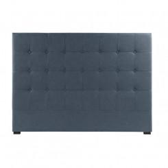 Изголовье кровати DKD Home Decor Синий полиэстер Деревянный MDF (159 x 8 x 119 cm)