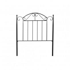 Изголовье кровати DKD Home Decor Чёрный Ковка (99 x 3 x 119 cm)