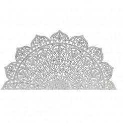 Изголовье кровати DKD Home Decor Белый Позолоченный Деревянный MDF (182 x 3 x 90 cm)