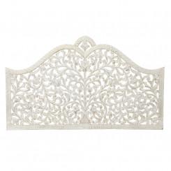 Изголовье кровати DKD Home Decor Белый Позолоченный Деревянный MDF (152 x 3 x 91 cm)