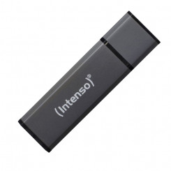 Mälupulk INTENSO Alu Line 3521481 USB 2.0 32GB Must