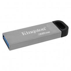 USB-pulk Kingston DataTraveler DTKN Hõbedane