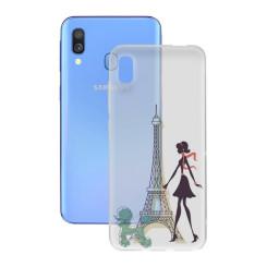 Чехол для мобильного телефона Samsung Galaxy A40 Contact Flex France TPU