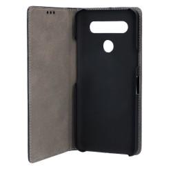 Складной чехол для мобильного телефона LG K61 KSIX Standing Чёрный
