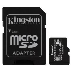 MicroSD Mälikaart koos Adapteriga Kingston SDCS2 100 MB/s exFAT