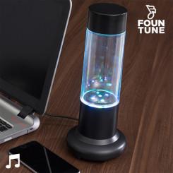 Tantsisklev Vee ja LED-valgusega Kõlar Fountune