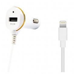 Autolaadija Ref. 138215 USB Cable Lightning Valge