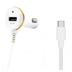 Autolaadija Ref. 138239 USB Valge