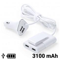Автомобильное зарядное устройство с 4 USB-портами 3100 mAh 145209