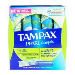Super tampoonid Pearl Tampax (18 uds)