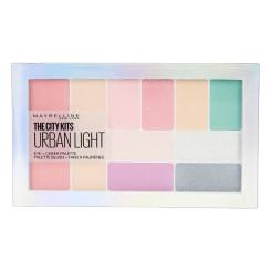 Lauvärvi palett City Kits Urban Light Maybelline (12 g)
