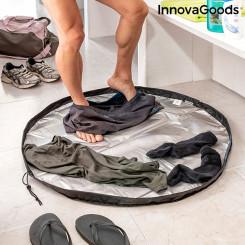 Kaks-ühes riietusruumi matt ja veekindel kott Gymbag InnovaGoods