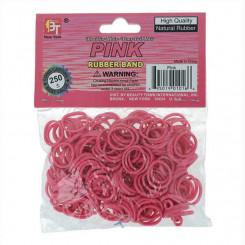 Резинки для волос Beauty Town Розовый (250 uds)=