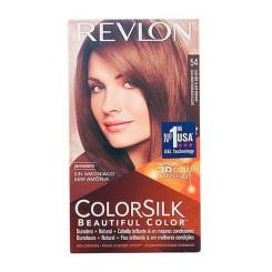 Ammoniaagivaba juuksevärv Colorsilk Revlon Hele kuldne pruun