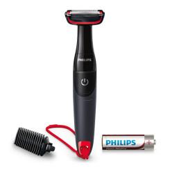 Elektriline Habemeajamismasin Philips BG105/15 Bodygroom 0,5 mm Must Punane