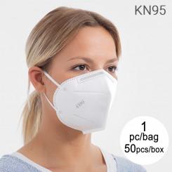 Isefiltreeruv 5-Kihiline Mask KN95 (Komplektis 50)